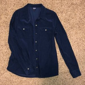 Patagonia corduroy button up